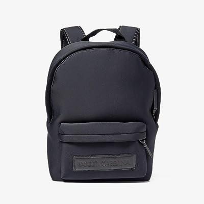 Dolce & Gabbana Kids Neoprene Backpack with Logo (Nero) Backpack Bags