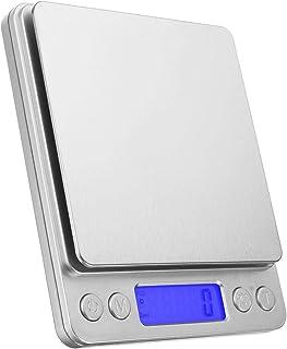 L-yxing Exakt 3 kg digital LCD elektronisk köksvåg postmatlagning matvåg viktvåg bantningshantering lätt att rengöra