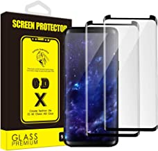 Yoyamo Galaxy Note 8 Screen Protector, [2 Pack] X093 3D Tempered Glass Screen Coverage [9H Hardness][HD][Case Friendly][Anti-Fingerprint] Screen Protector for Samsung Galaxy Note 8