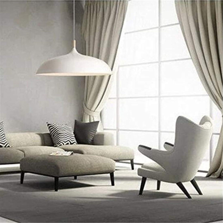 HBLJ Chandelier européen, Magasin de vêteHommests individuels créatifs, Plaque en aluminium blanc, Plafonnier, Suspension, Grand blanc
