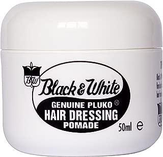Black and White Pluko Hair Dressing Pomade 50ml