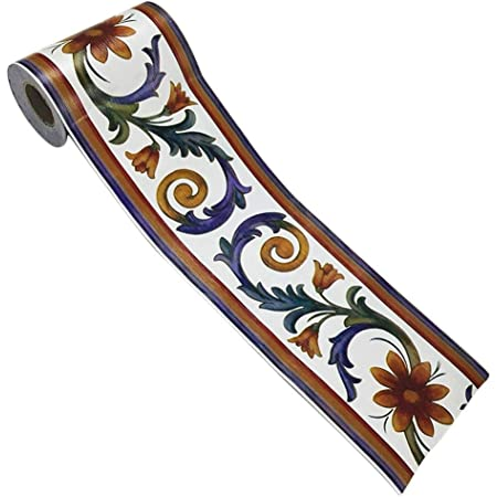 Topker 10m Auto Adhesivo del Papel Pintado del PVC de la Cintura de Piedra Línea del Borde de baño WC Cocina Decoración Etiqueta de la Pared