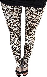 f69a0cc4308 Guiran Mujer Leggings Leopardo Estampados Push Up Leggins Jeggings Skinny  Pantalones De Cintura Alta