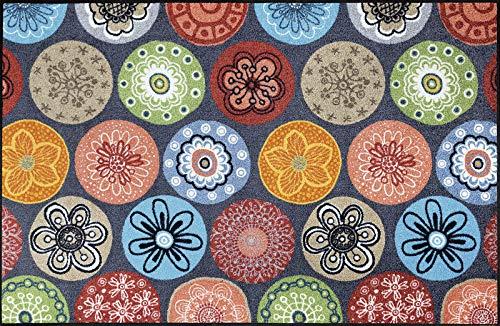 Wash+Dry Fußmatte Coralis, 115x175 cm, Innen, waschbar, Bunt