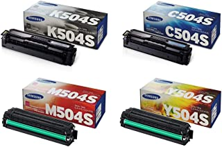 Samsung 504S CLT-K504S. CLT-C504S. CLT-M504S. CLT-Y504S BCYM Toner Set