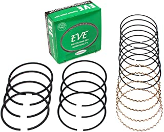 Evergreen RS2025-EVE.STD Fits 92-05 Lexus GS300 IS300 Toyota Supra Turbo 3.0L DOHC 2JZGE 2JZGTE Engine Piston Ring Set (Standard Size)