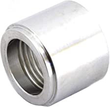 3/8 NPT Weld On Bung Female Nut Aluminum Threaded Insert Weldable Pipe Fitting Adapter 617-6703AL