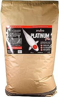 Blue Ridge Fish Food Pellets, Koi and Goldfish Platinum Professional Formula, Floating 3/16