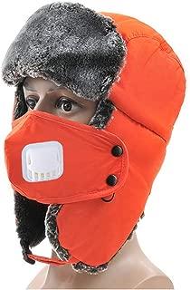 Bomber Hat Men Women Lamb Wool Russian Fur Hat Earflap Camouflage Ski Mask Warm Trapper Hat