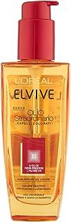 L 'Oréal Paris Elvive Aceite excepcional Tratamiento Nutriente, 100ml para pelo teñido o seco