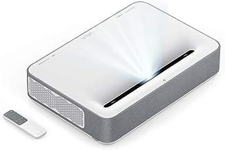 VAVA 4K UHD Laser TV Home Theatre Projector | Bright 2500 Lumens | Ultra Short Throw | HDR10 | Built-in Harman Kardon Sound Bar | ALPD 3.0 | Smart Android System, White