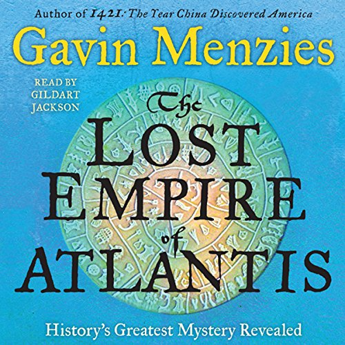 The Lost Empire of Atlantis audiobook cover art