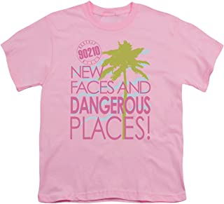 90210 Tagline Unisex Youth T Shirt for Boys and Girls