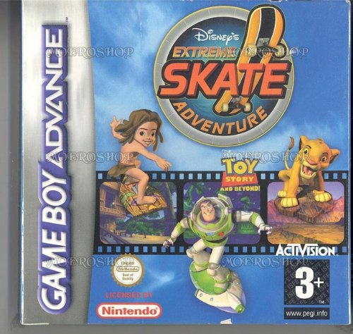 Disneys extreme skate adventure - GBA - PAL
