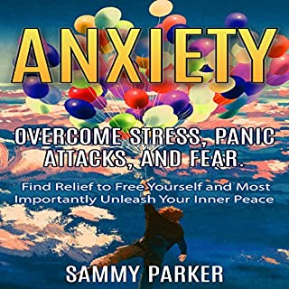 Anxiety: Overcome Stress, Panic Attacks, and Fear audiobook cover art