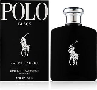 Ralph Lauren Polo Black Men Eau de Toilette Spray, 125ml, 4.2 Ounce (14149)