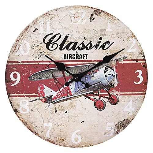 Clayre & Eef 6KL0598 - Reloj de pulsera (30 x 3 cm)