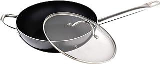San Ignacio Professional Wok 28x8.0cm aluminio prensado inducción c/t Profesional Chef
