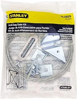 Stanley Hardware Anti-Sag Gate Kit, Zinc Plated #760829