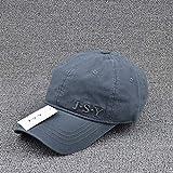 sdssup Baumwolle Baseball Cap Vier Jahreszeiten Hut Visier grau einstellbar