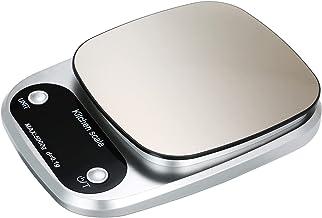 Balança digital de alta precisão com superfície à prova d'água 5kg / 0,1g Balança portátil para cozinha Balança para assa...