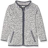 Playshoes Kinder-Jacke aus Fleece, atmungsaktives und hochwertiges Jäckchen mit Reißverschluss, grau, 2-3 Years (Manufacturer Size:98)