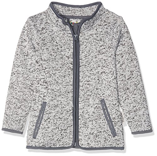 Playshoes Kinder-Jacke aus Fleece, atmungsaktives und hochwertiges Jäckchen mit Reißverschluss, grau, 18-24 Months (Manufacturer Size:92)