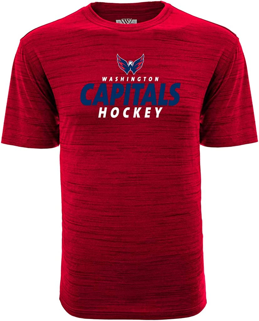 Levelwear NHL Mens Static Same day shipping Max 60% OFF Tee '18 Anchor