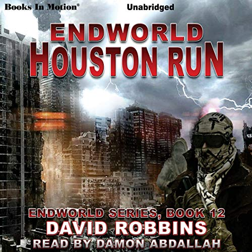 Houston Run audiobook cover art