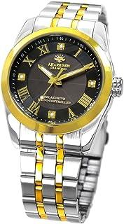 【ジョンハリソン/JOHN HARRISON】 メンズ 腕時計 ソーラー 電波 4石天然ダイヤモンド付 JH-096MGB