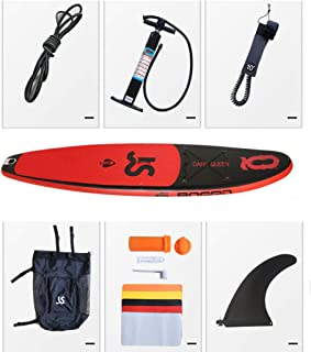 ZLBZBB Tabla de Surf Inflable, Tabla de Surf Inflable, Apto para un Solo Ejercicio de Novato, 335 x 82 x 15, Puede soportar 150 kg