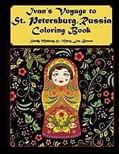 Ivan's Voyage to St. Petersburg, Russia Coloring Book