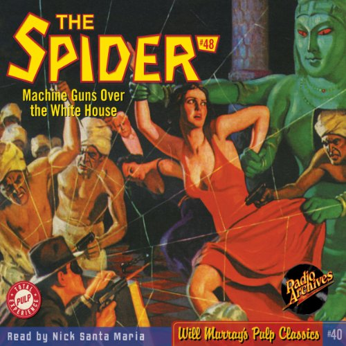 Spider #48, September 1937 (The Spider) audiobook cover art