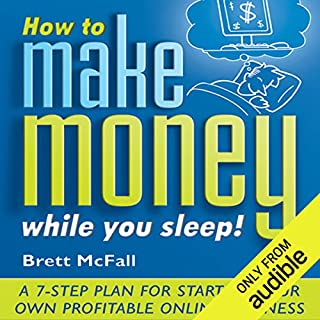 How to Make Money While You Sleep audiobook cover art