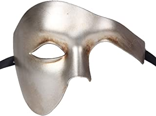 Luxury Mask Men's Phantom Of The Opera Masquerade Mask Vintage Design