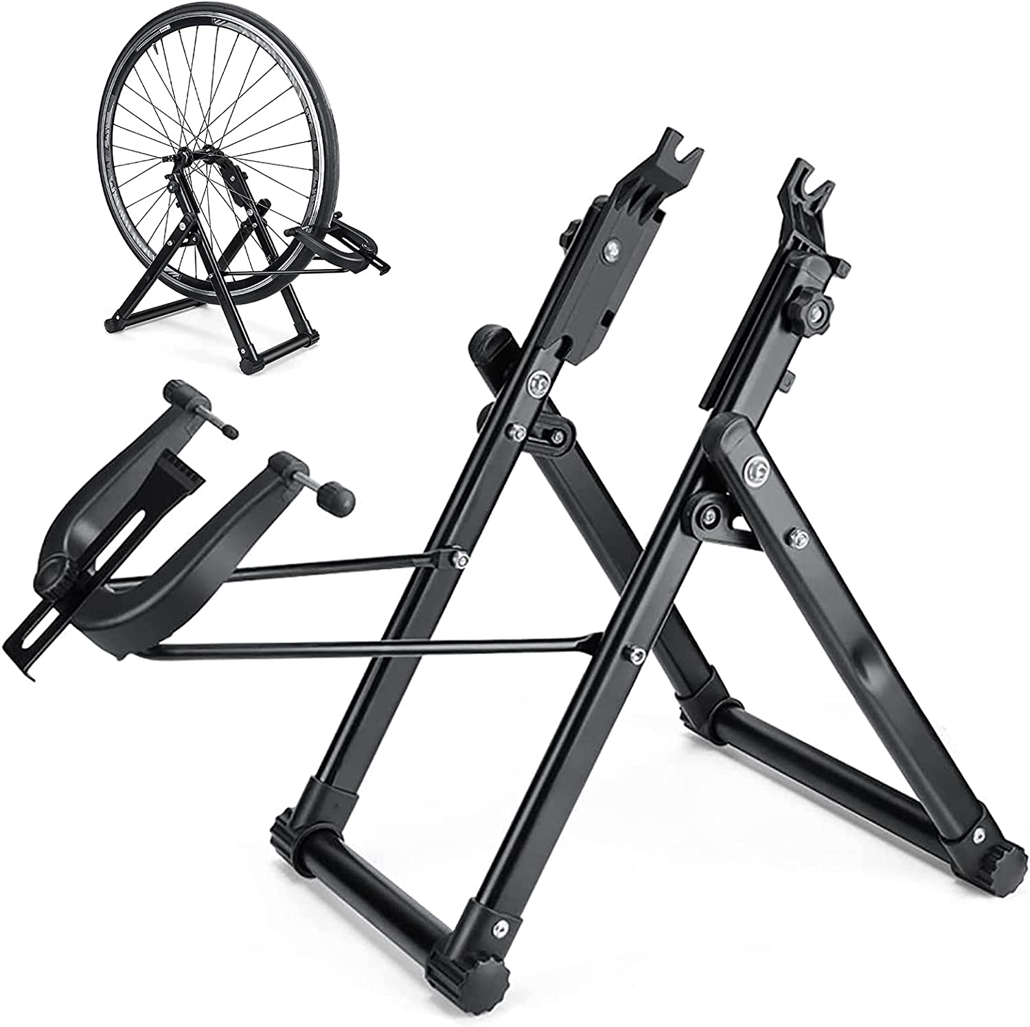 YIKBIK Bike Wheel Limited time for free shipping Truing Virginia Beach Mall Bicyc Tire Stand Bicycle