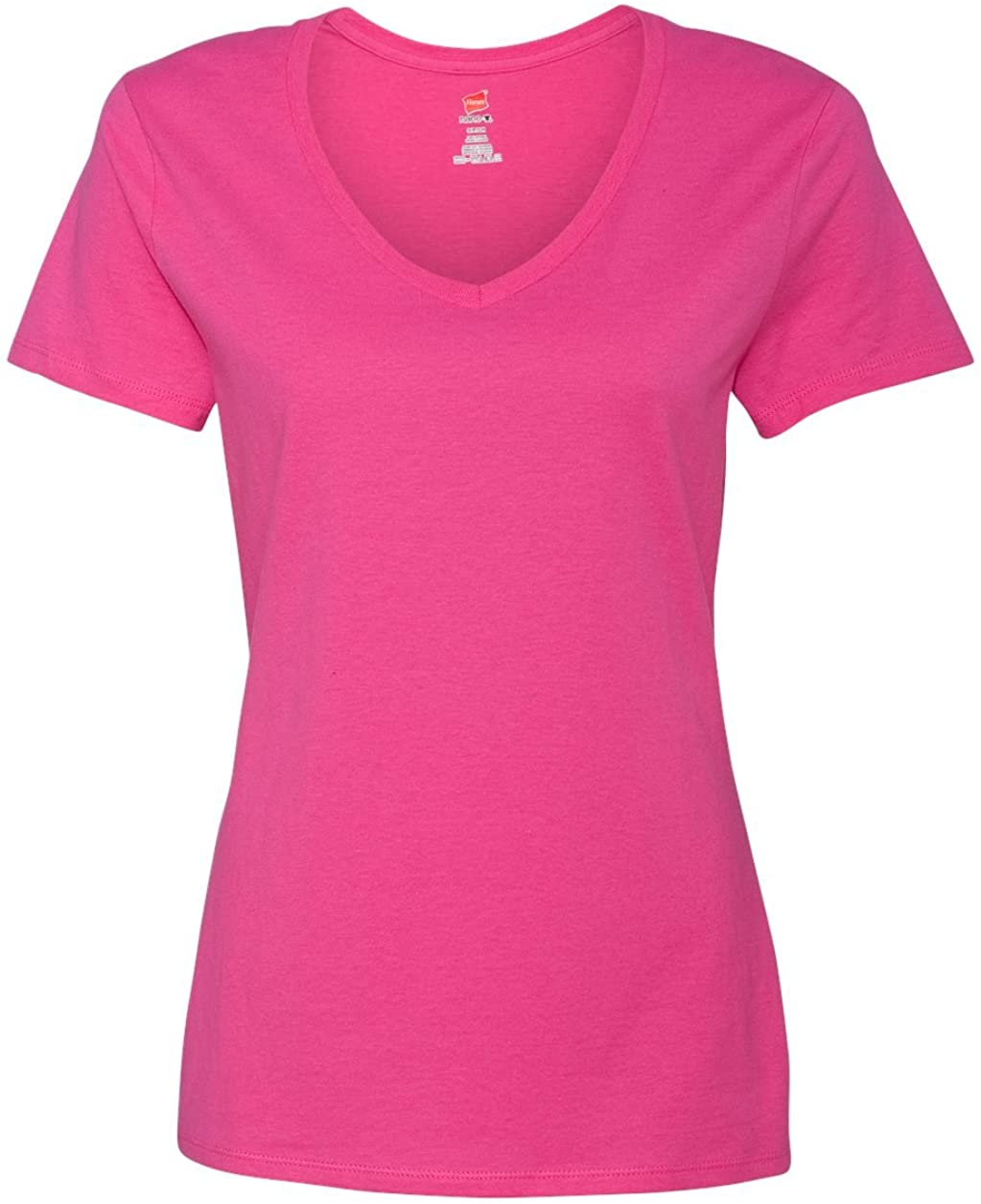 Hanes Nano-T Women`s V-Neck T-Shirt