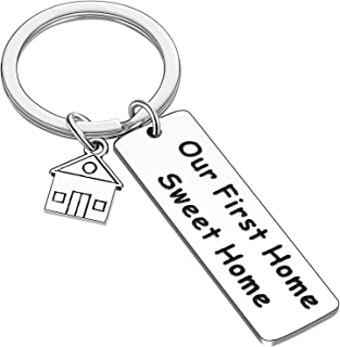 First Home Gift New Home Keychain Housewarming New Homeowner Realtor Gift