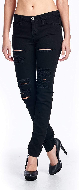 Angry Rabbit Womens ラッピング無料 Basic Skinny Premium Denim 訳あり品送料無料 Made in USA Jeans