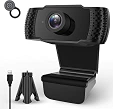 Webcam with Microphone,1080P HD Streaming Computer Webcam for PC Video Conferencing/Calling/Gaming,Laptop/Desktop Mac,Skyp...