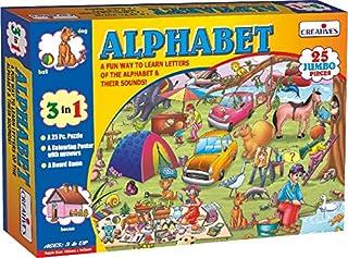 Creative Educational Creative's Alphabet Reading Puzzles