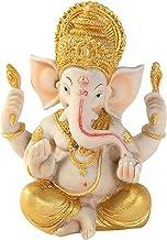 sharprepublic Ganesha Figurine India Elephant God Buddha Home Office Decoration Sculpture