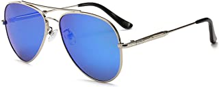 Classic Style Men Women Aviator Sunglasses Polarized Metal Mirror