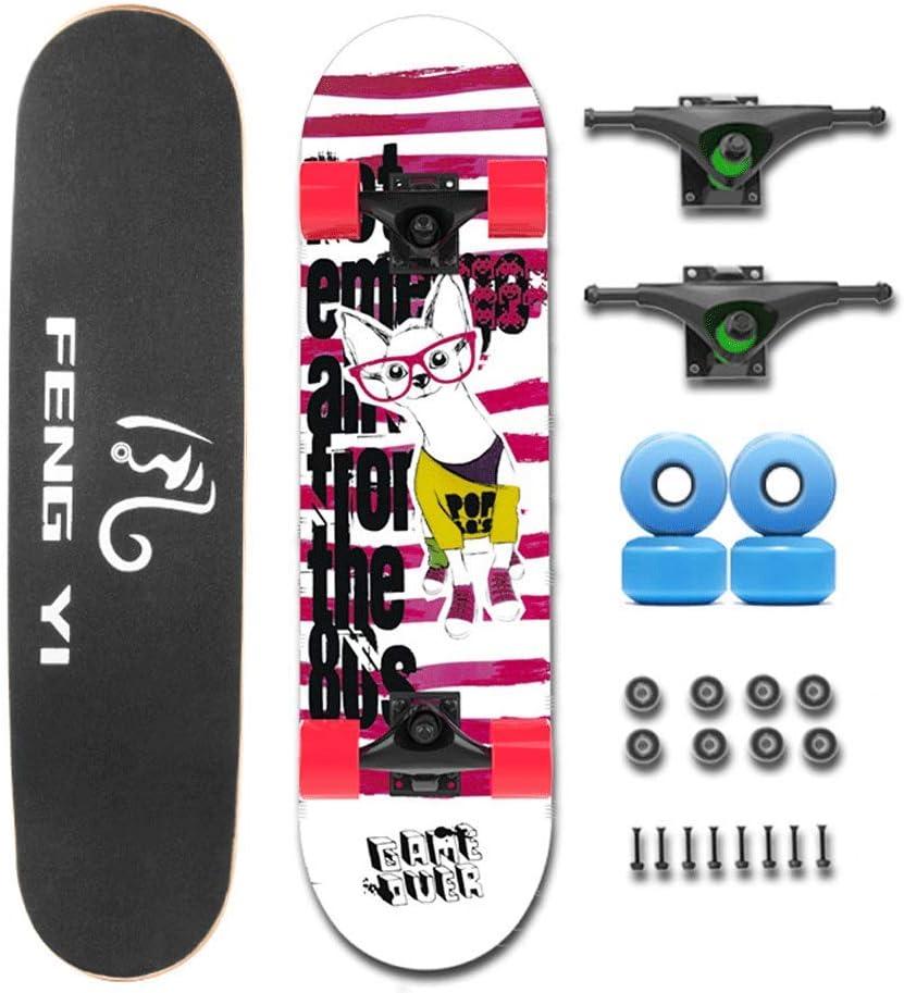 OFFicial shop Short Board Beginner Four Wheel Adult B Skateboard Teen Children Cheap mail order specialty store