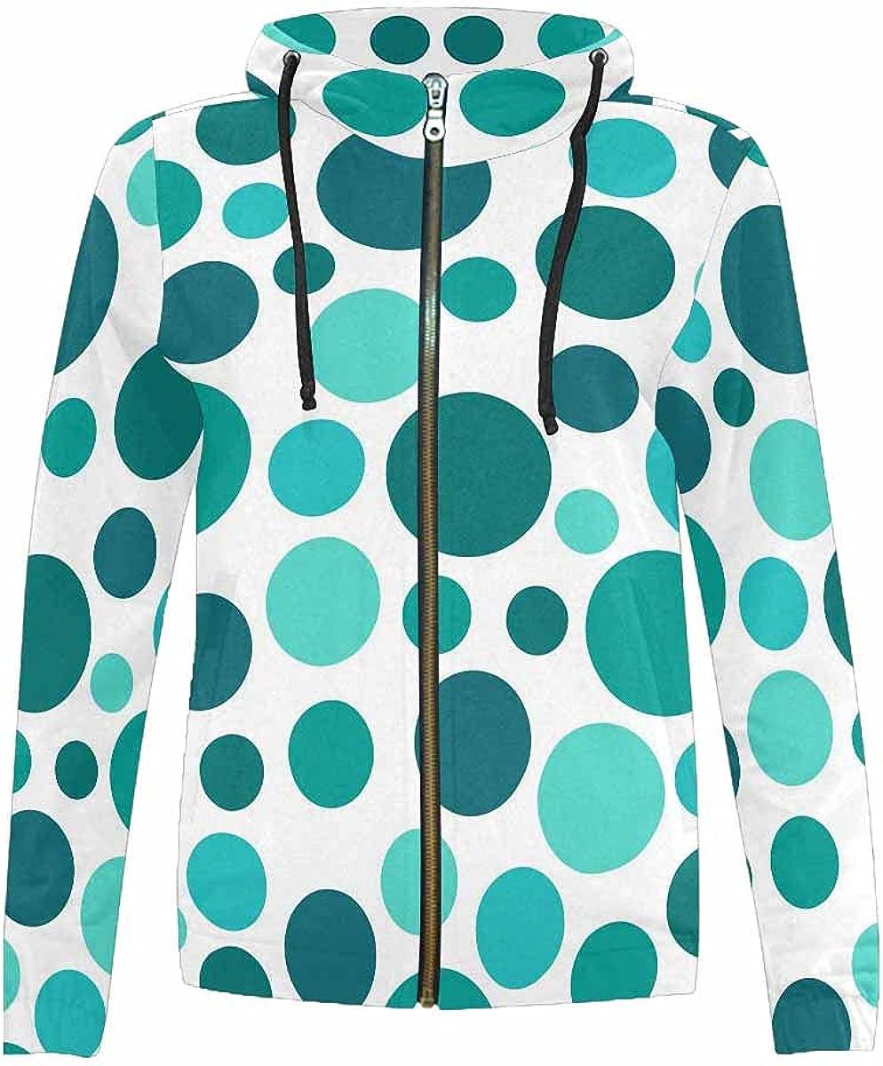 InterestPrint Polka Dot Pattern All items free shipping Background Girls Hooded Ja Weekly update Boys