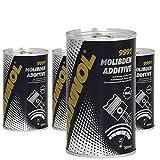 MANNOL Molibden 9991 - Aditivo para aceite y revestimiento de motor (4 x 300 ml)