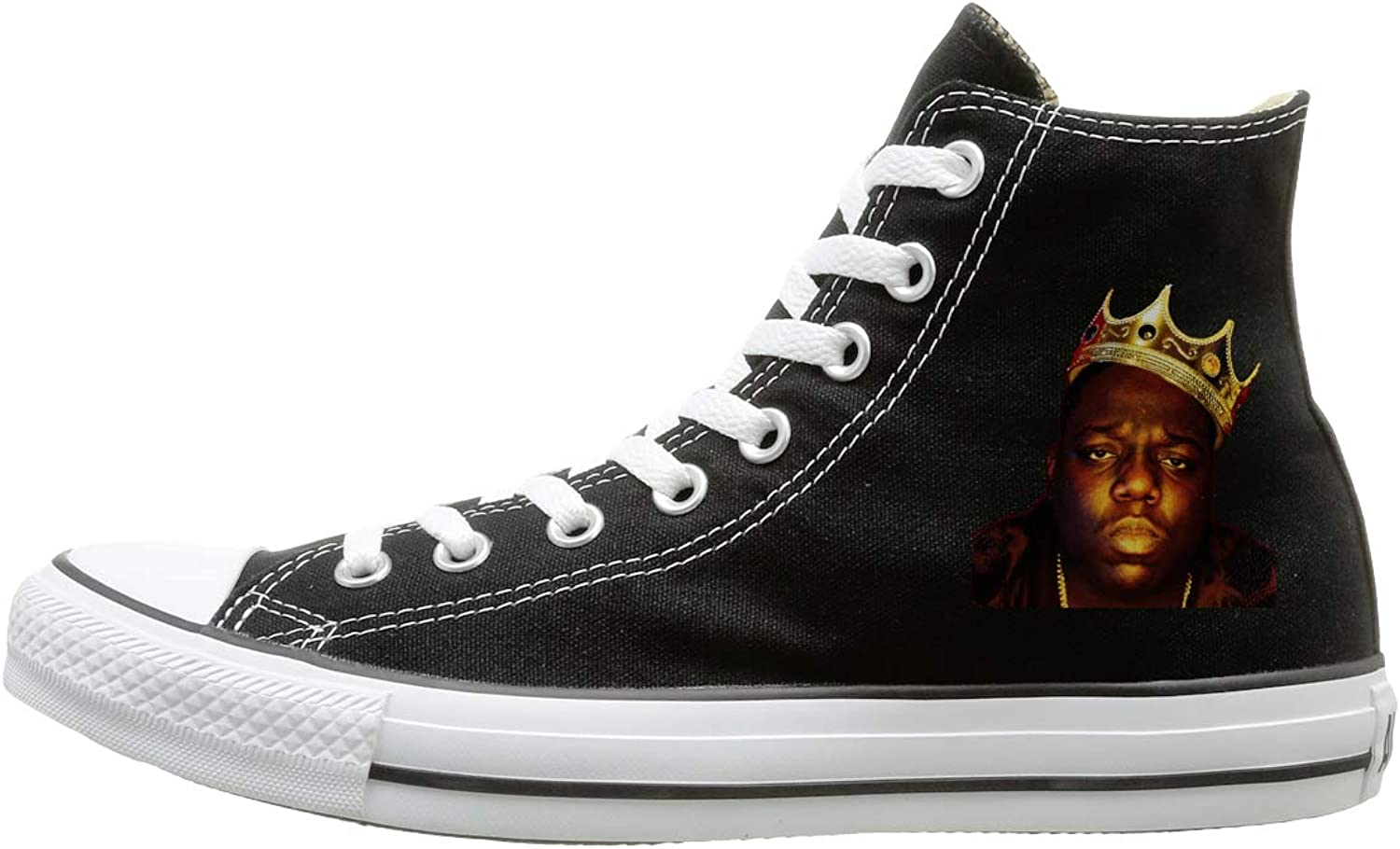 High-top Canvas shoes Sneaker Biggie-Smalls Casual Walking shoes For Mens Womens