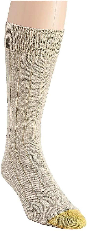 GOLD TOE Men's Soft Touch Crew Socks
