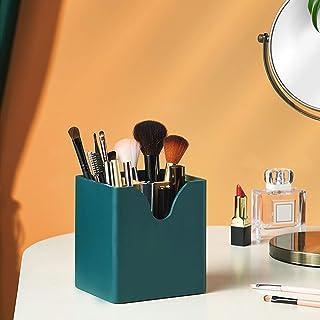 Cosmetische Opslagorganisator, Pennenhouder Opbergdoos Hout, Multifunctionele Container voor Desktoporganizer, voor Make-u...