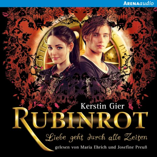 Rubinrot audiobook cover art